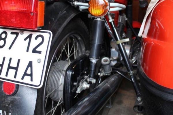 В Україні відшукали рідкісний мотоцикл «Ява» в ідеальному стані
