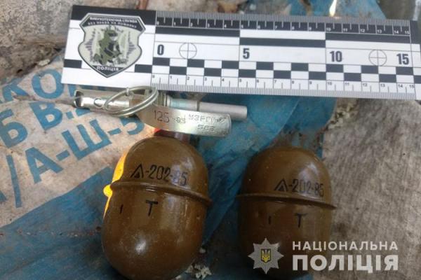 Тернопіль: у 24-річного чоловіка виявили дві бойові гранати