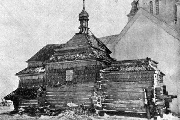 Храм XVIII століття в Зарубинцях