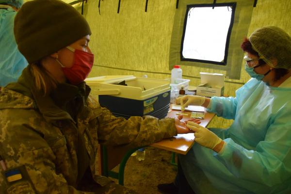 Тернопільських військових перевіряють на коронавірус