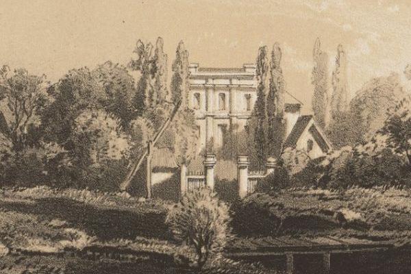 Село Криве на малюнку 200 років тому