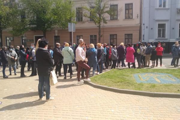 «Повністю розумію цих  людей»: у Тернополі пікетують підприємці