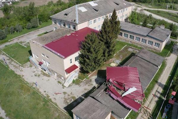 Одна з шкіл Тернопільщини залишилась без даху