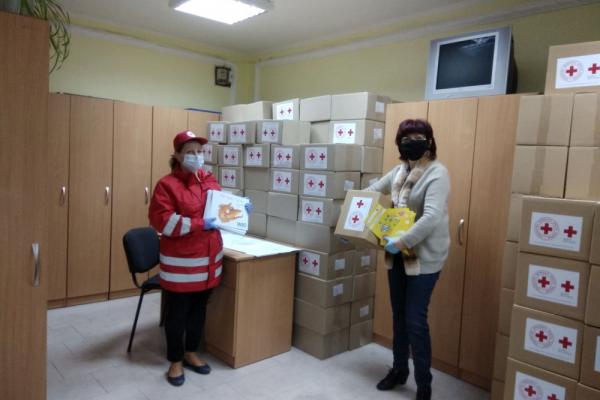 Товариство Червоного Хреста передало допомогу для тернополян