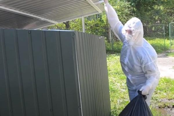 На Тернопільщині немає пунктів утилізації використаних засобів захисту від коронавірусу