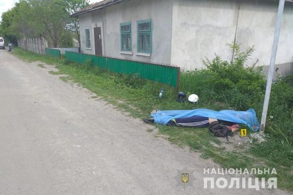 На Чортківщині в результаті ДТП загинув мотоцикліст