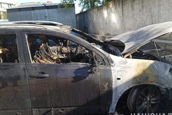 У Тернополі професійні боксери підпалили дорогу іномарку