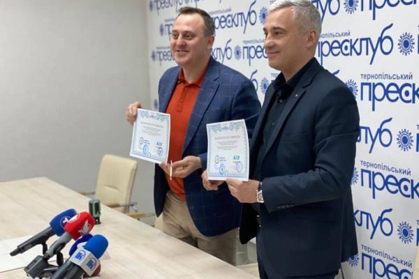 У Тернополі підписали меморандум з Одеською кіностудією