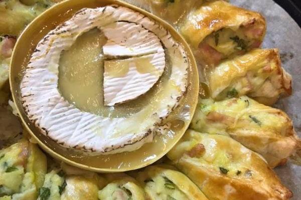 Тернополянка Ольга Навроцька приготувала пиріг-закуску «Гурман» на кулінарному онлайн-майстер-класі від відомих жінок Львова, Вінниці і Тернополя
