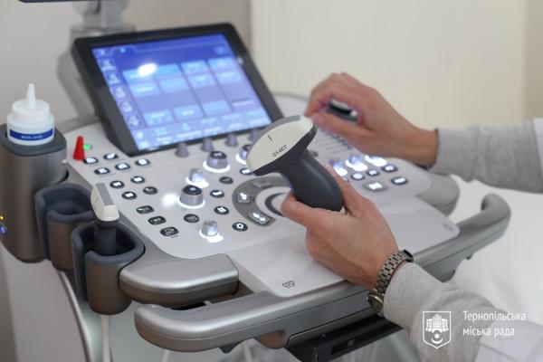 У Тернополі оновлюють медобладнання дитячої міської лікарні
