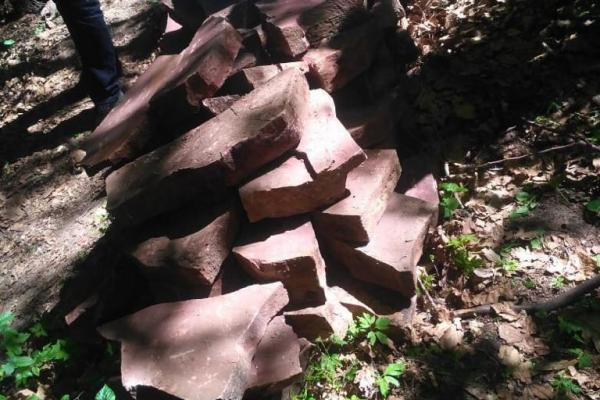На Тернопільщині впіймали на «гарячому» викрадача каменю