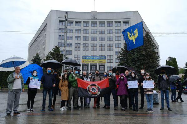 Тернополяни приєдналися до всеукраїнської акції «Рік Зеленського - Рік реваншу»