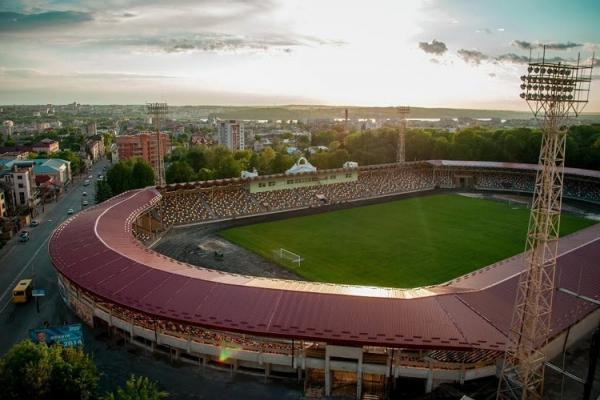 Тернопільський стадіон увійшов до рейтингу найбезпечніших для проведення матчів УПЛ, фіналів Кубка та Суперкубка