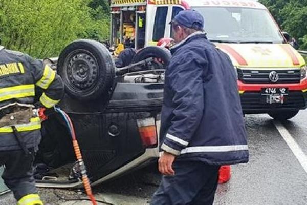 В аварії на Тернопільщині загинув водій, пасажири двох автівок травмовані (Фото)