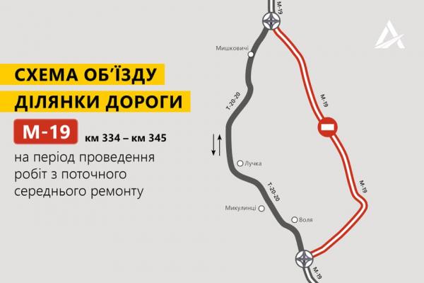 Увага водіям! На Тернопільщині перекриють трасу