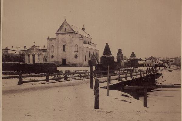 Теребовля на фото 1890 року