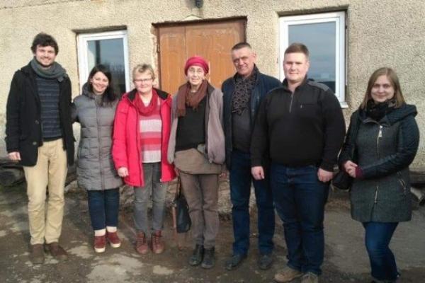 Студенти з Німеччини проходитимуть практику у селі Потутори на Тернопільщині