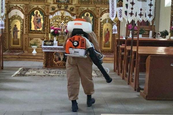 «Через нові випадки COVID-19»: в одному із сіл Тернопільщини проводять дезінфекцію приміщень
