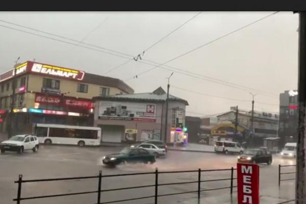 Негода на Тернопільщині продовжу вирувати (Відео)