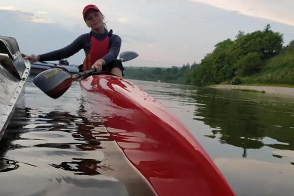 Бережанська секція веслування на байдарках поповнилась новим човном