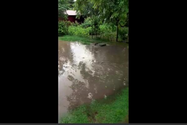 У Тернополі через зливу затоплені вулиці (Відео)