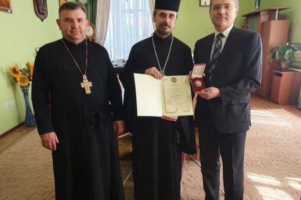 Ректора тернопільського медичного університету нагородили орденом Святого Пантелеймона