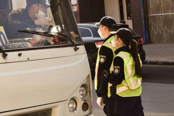 У Тернополі оштрафували водія маршрутки, котрий відмовився одягти маску