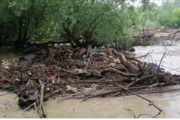 «Підтоплені оселі, сільські угіддя»: наслідки негоди на Монастирищині (Відео)