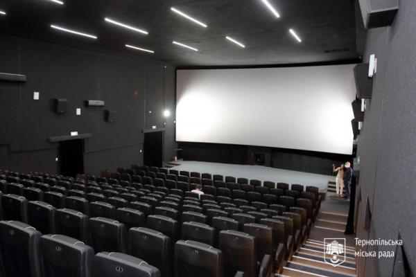 Оновлений кінотеатр «Палац Кіно» у Тернополі готовий приймати відвідувачів (Фото)