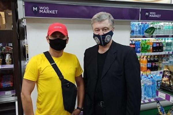 «Не помітити цю персону було важко»: Петра Порошенка зустріли у Кременці