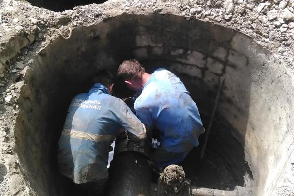 Через аварію у Тернополі можуть виникнути  перебої з водопостачанням