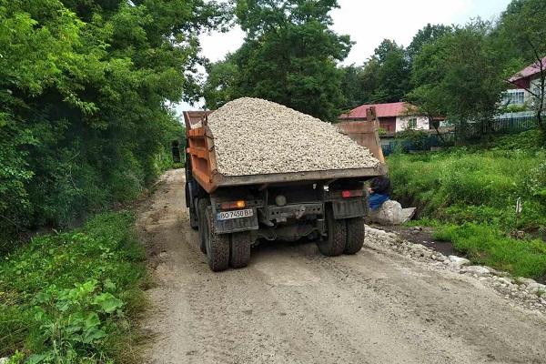 «Проїхати неможливо»: на Тернопільщині злива розмила дороги