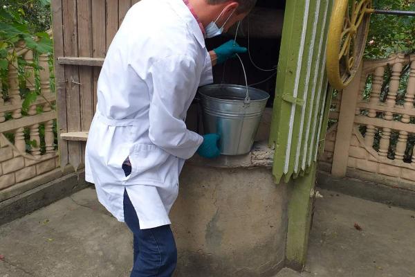 На Монастирищині продовжують перевіряти воду з криниць