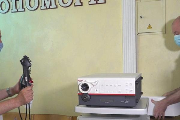 Лікарня швидкої в Тернополі отримала апарат вартістю понад 2 мільйони