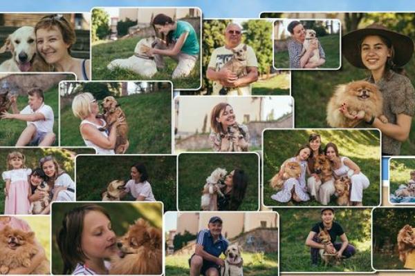 У неділю фотовиставка «Допоможемо Ельзі» - усі зібрані кошти на лікування собачки