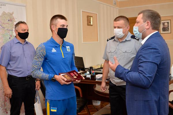 Тернопільський спортсмен Дмитро Підручний отримав Орден «За заслуги» III ступеня