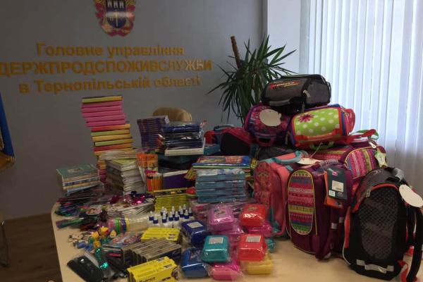 Для дітей військових з Тернопільщини збирають шкільний рюкзак