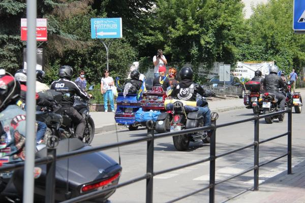 «Мотопробіг Єдності 2020»: до Тернополя завітали байкери