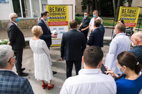 На Тернопільщині облаштують сучасні приймальні відділення в медзакладах