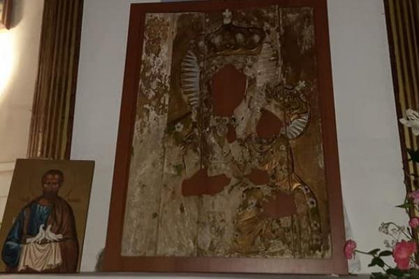 У костелі на Тернопільщині знайшли частину старовинної ікони