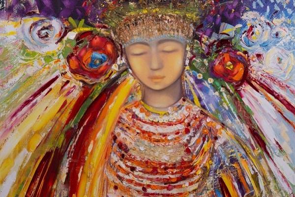 Біля цього полотна завмирає душа, бо на ній квіти зі світу ангелів