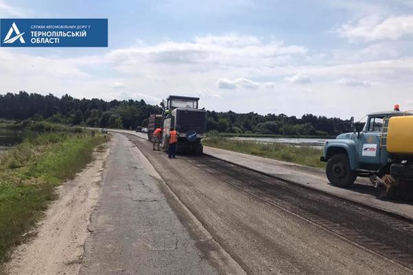 На Тернопільщині відновлять ще одну ділянку дороги