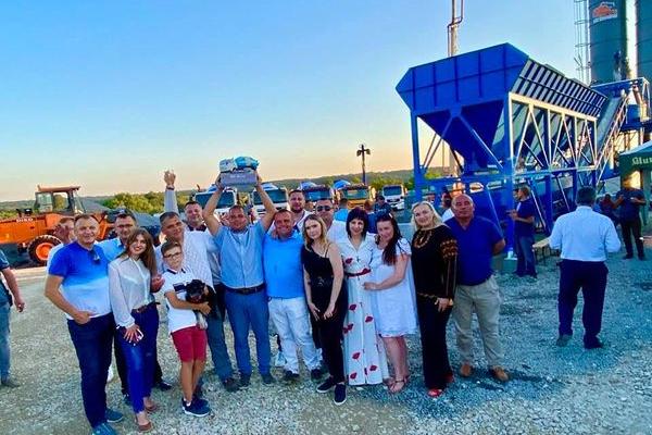 На Тернопільщині відкрили новий бетонний завод (Фото)