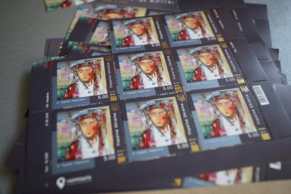 Картини художниці з Тернопільщини з'являться на поштових марках