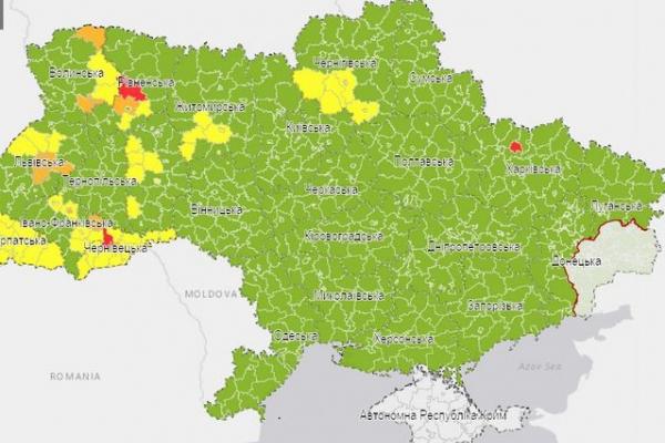 Тернопіль у «зеленій» зоні карантину
