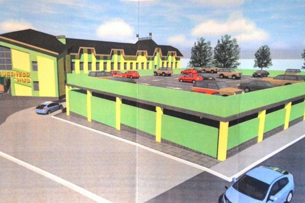 Чотирьохповерховий паркінг у Чорткові хочуть збудувати наступного року