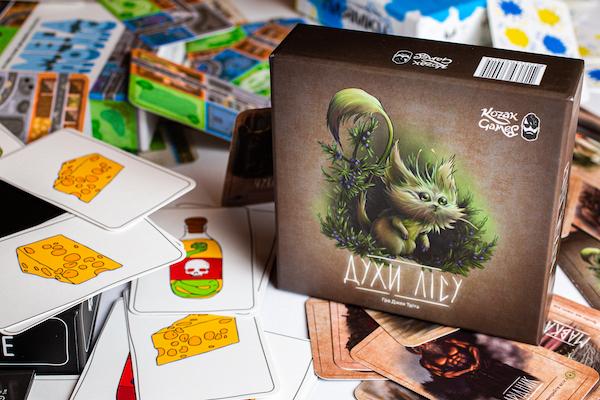 Мавка, Чугайстр,  Щезник та Хуха: тернополяни створюють цікаві настільні ігри