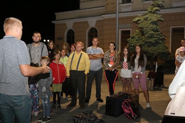 Діти пільгових категорій з Тернопільщини відправилися на оздоровлення