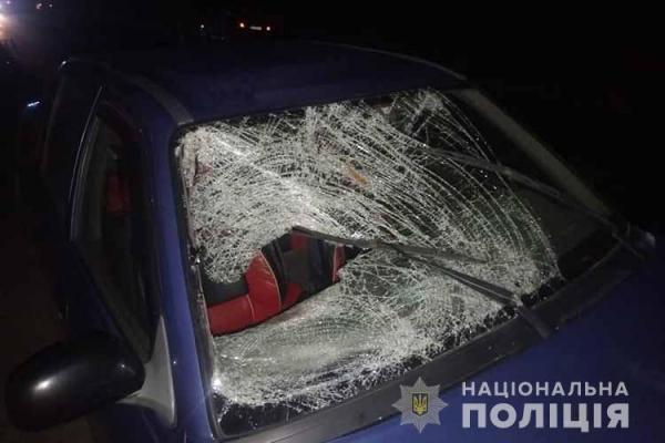Потрапив під колеса автівки: на Тернопільщині ДТП