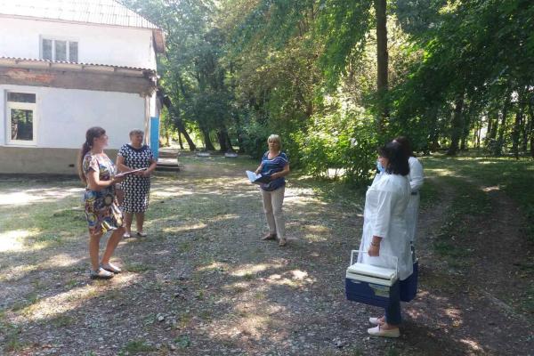 На Тернопільщині перевіряють дитячі табори